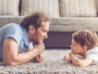 Familia. Padre e hijo